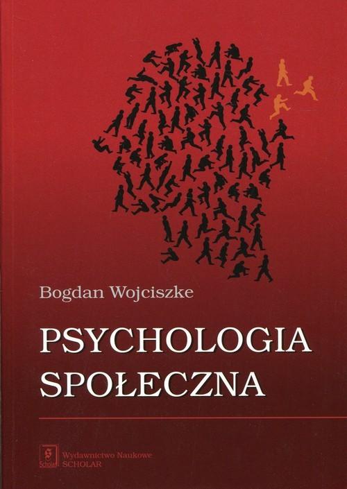 okładka Psychologia społeczna, Książka | Wojciszke Bogdan