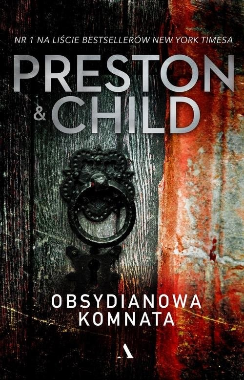 okładka Obsydianowa komnata, Książka | Douglas Preston, Lincoln Child