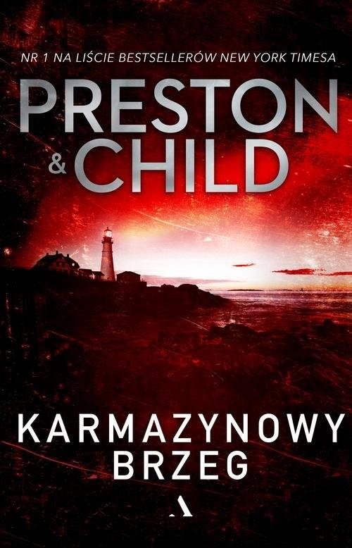 okładka Karmazynowy brzeg, Książka | Douglas Preston, Lincoln Child