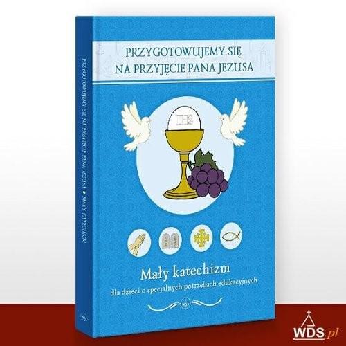okładka Przygotowujemy się na przyjęcie Pana Jezusa Mały katechizm dla dzieci o specjalnych potrzebach edukacyjnych, Książka | Dąbek Jerzy