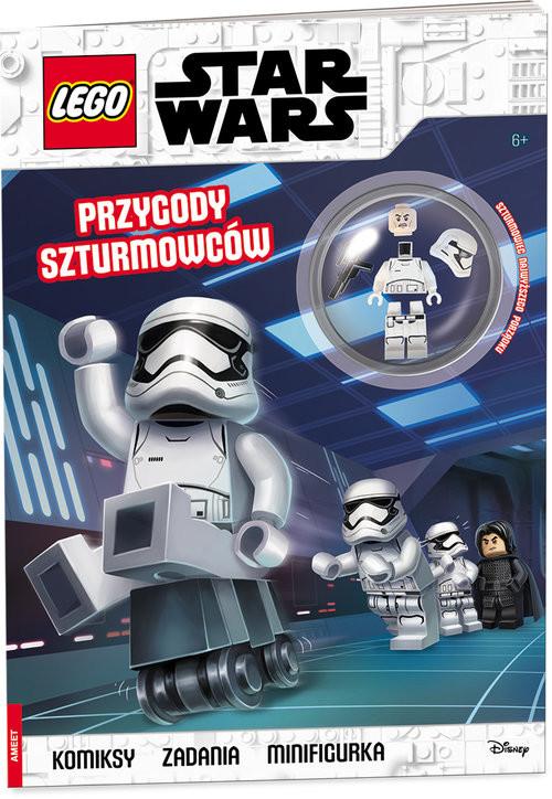 okładka LEGO Star Wars Przygody szturmowców LNC-6307, Książka |