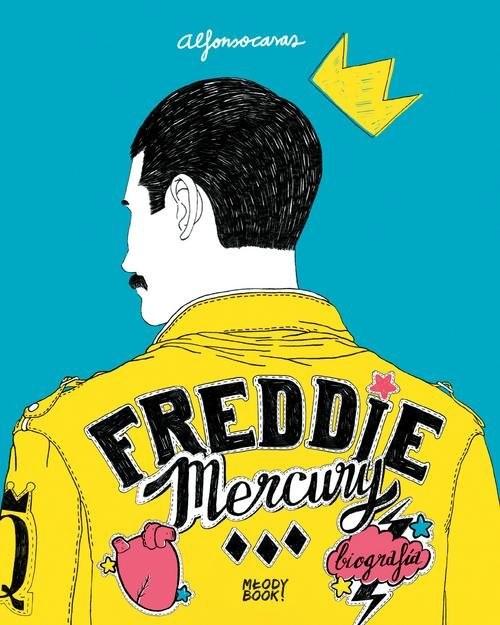 okładka Freddie Mercury Biografia, Książka | Casas Alfonso