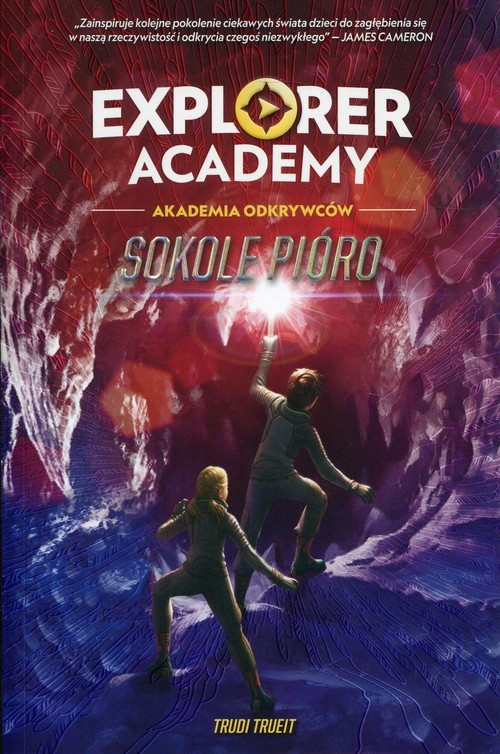 okładka Explorer Academy Tom 2 Sokole pióro, Książka | Trueit Trudi