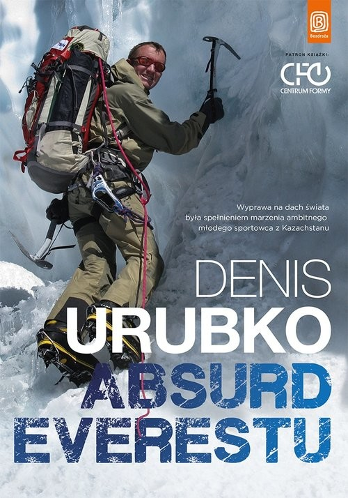 okładka Absurd Everestu, Książka | Urubko Denis