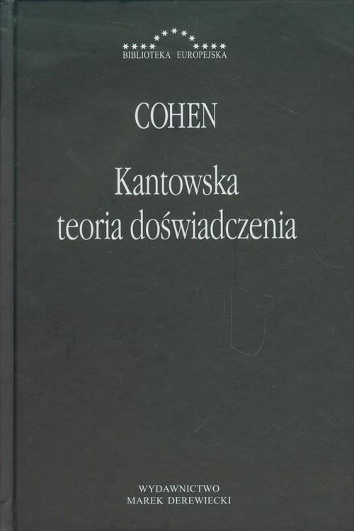 okładka Kantowska teoria doświadczenia, Książka | Cohen Hermann