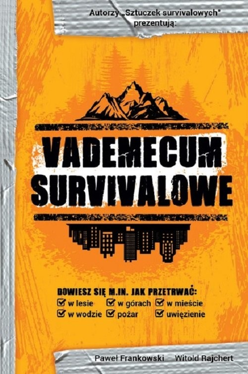 okładka Vademecum survivalowe, Książka | Paweł  Frankowski, Witold  Rajchert