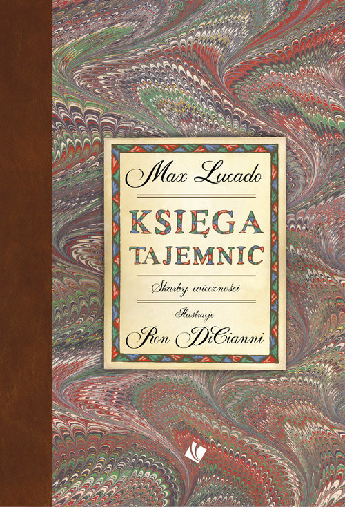 okładka Księga tajemnic, Książka | Max Lucado