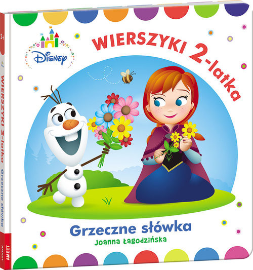 okładka Disney Maluch Wierszyki 2-latka Grzeczne słówka HOPS-9201, Książka | Łagodzińska Joanna