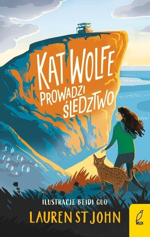 okładka Kat Wolfe prowadzi śledztwo Tom 1, Książka | John Lauren St