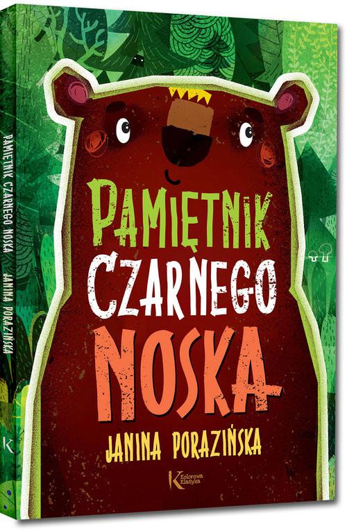 okładka Pamiętnik Czarnego Noska, Książka | Porazińska Janina