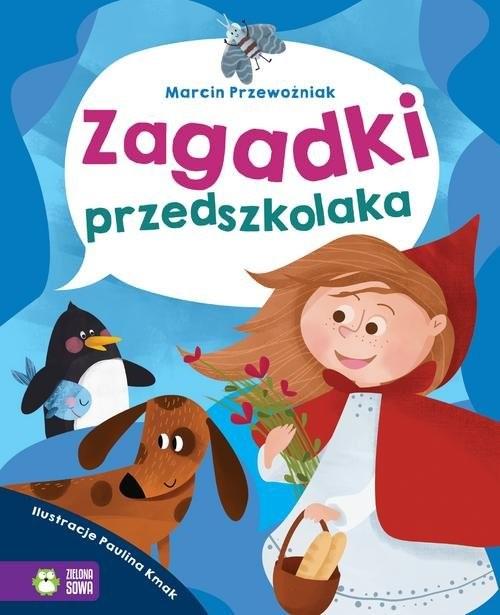 okładka Zagadki przedszkolaka, Książka | Przewoźniak Marcin