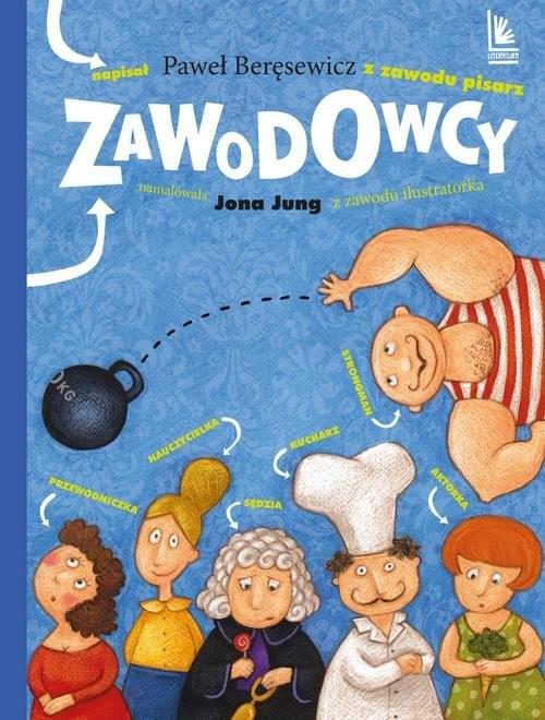 okładka Zawodowcy, Książka | Paweł Beręsewicz