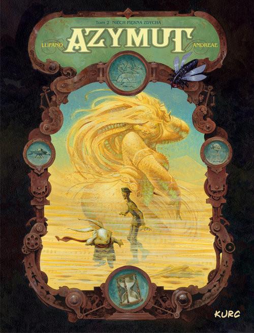 okładka Azymut tom 2 Niech Piękna zdycha, Książka | Wilfrid Lupano, Jean-Baptiste Andreae