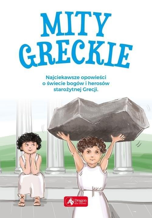okładka Mity greckie, Książka  