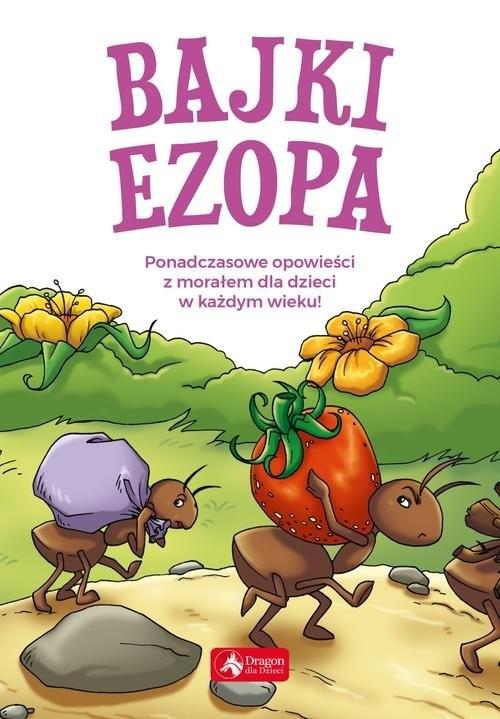 okładka Bajki Ezopa, Książka   Ezop
