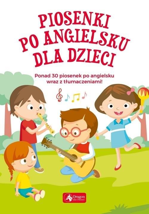 okładka Piosenki po angielsku dla dzieci, Książka  