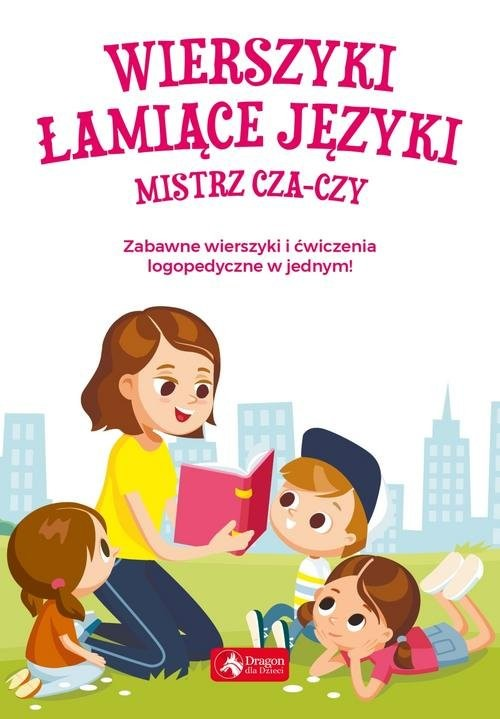 okładka Wierszyki łamiące języki Mistrz cza-czy, Książka   Willman Anna