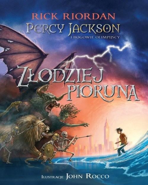 okładka Percy Jackson i bogowie olimpijscy Złodziej Pioruna, Książka | Riordan Rick