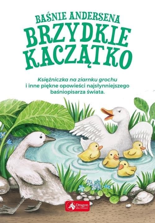 okładka Baśnie Andersena Brzydkie kaczątko, Książka | Hans Christian Andersen