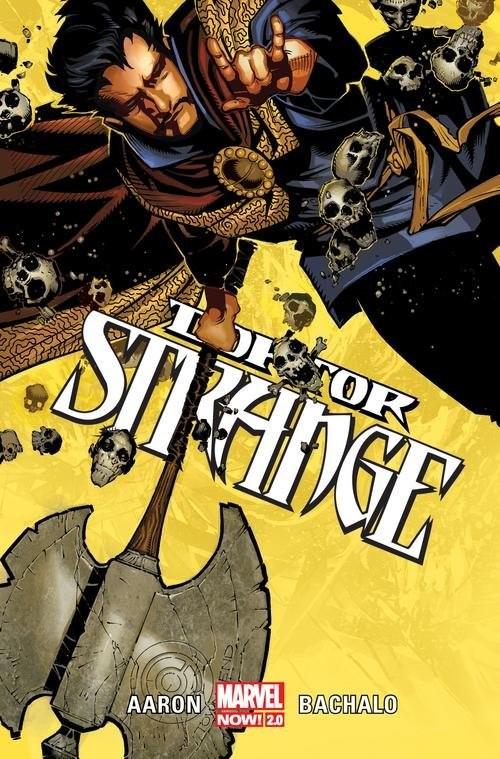 okładka Doktor Strange T.1, Książka | Aaron Jason