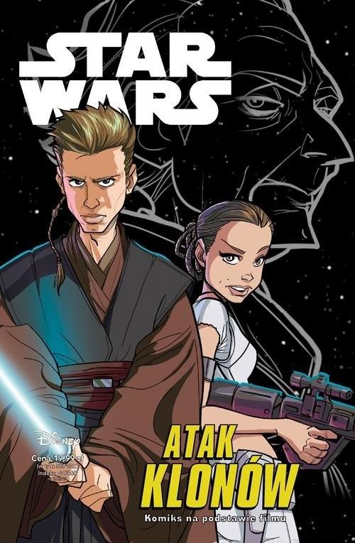 okładka Star Wars Atak klonów / komiks /książka      Igor Chimisso, Ingo Römling