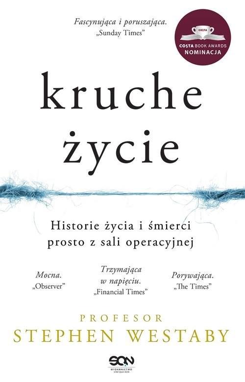 okładka Kruche życie, Książka | Westaby Stephen