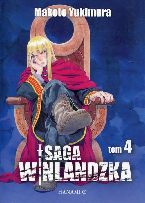 okładka Saga Winlandzka 4, Książka | Yukimura Makoto