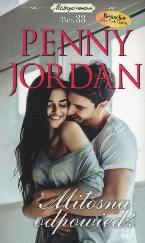 okładka Miłosna odpowiedź, Książka | Jordan Penny