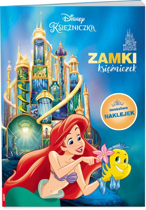 okładka Disney Księżniczka Zamki księżniczek PAD-9101, Książka | Opracowanie zbiorowe