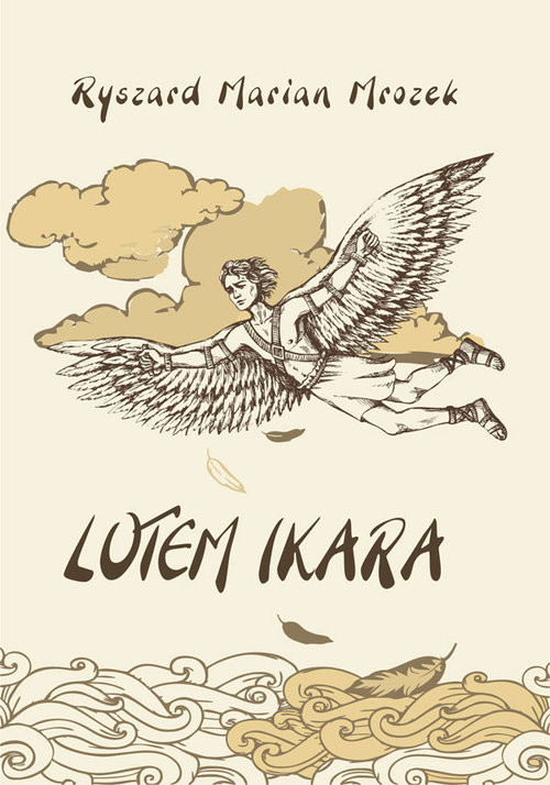 okładka Lotem Ikara, Książka | Ryszard Marian  Mrozek