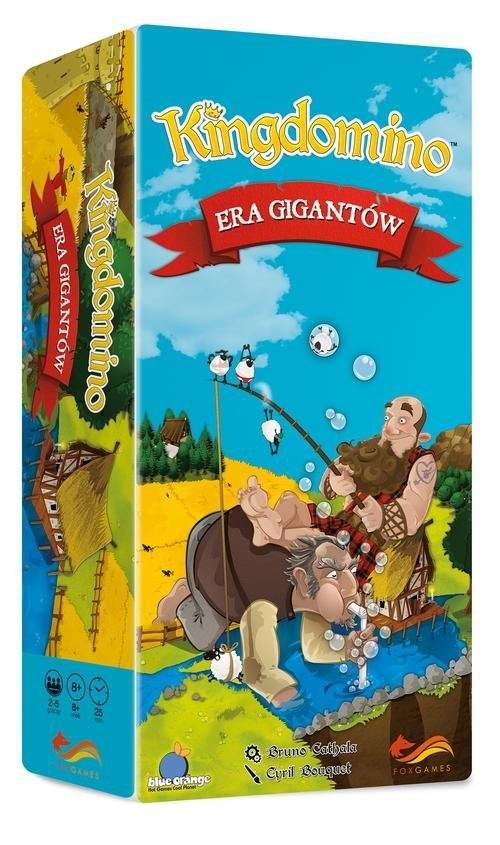 okładka Kingdomino Era Gigantów Gra, Książka   Bruno Cathala