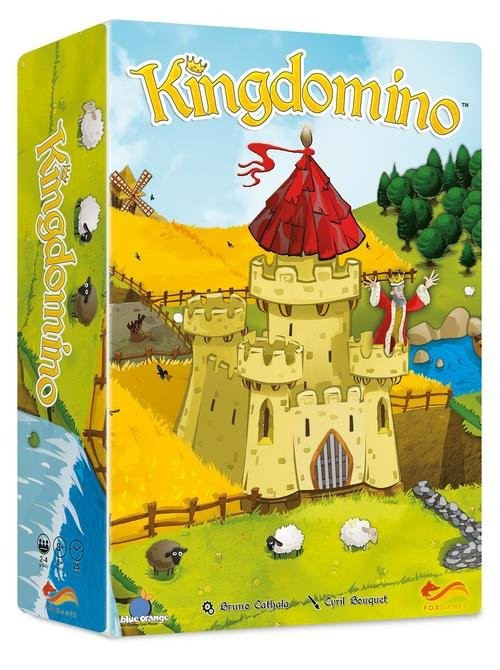 okładka Kingdomino, Książka   Bruno Cathala
