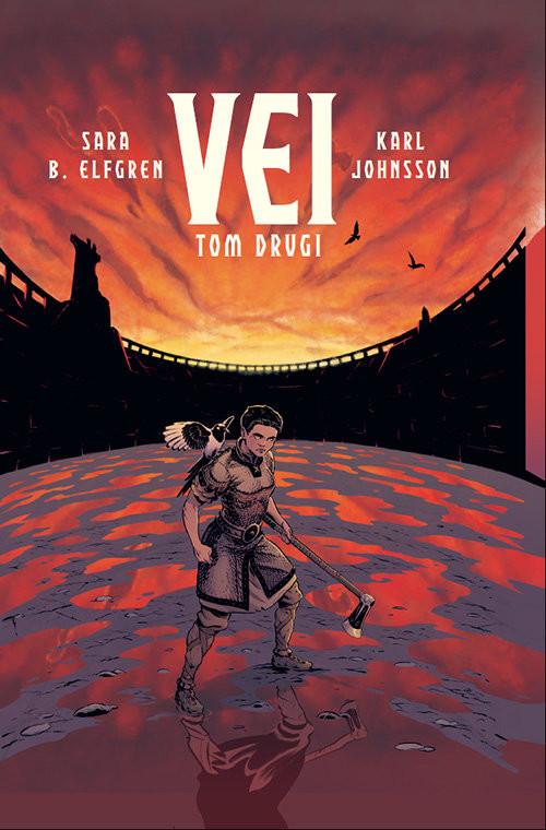 okładka Vei t.2, Książka | Elfgren Sara