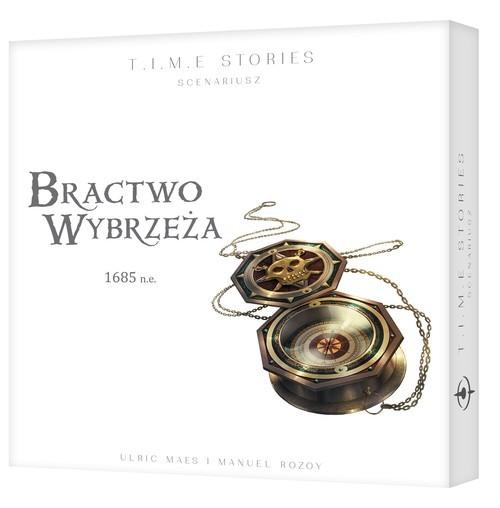 okładka T.I.M.E Stories: Bractwo Wybrzeża siódmy dodatek do TIME Storiesksiążka     