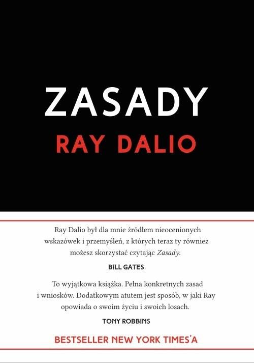 okładka Zasady Życie i pracaksiążka |  | Dalio Ray