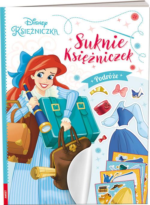 okładka Disney Księżniczka Suknie księżniczek Podróże, Książka |