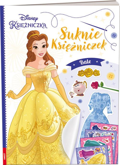 okładka Disney Księżniczka Suknie księżniczek Bale, Książka |