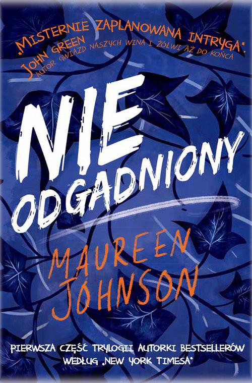 okładka Nieodgadnionyksiążka |  | Johnson Maureen