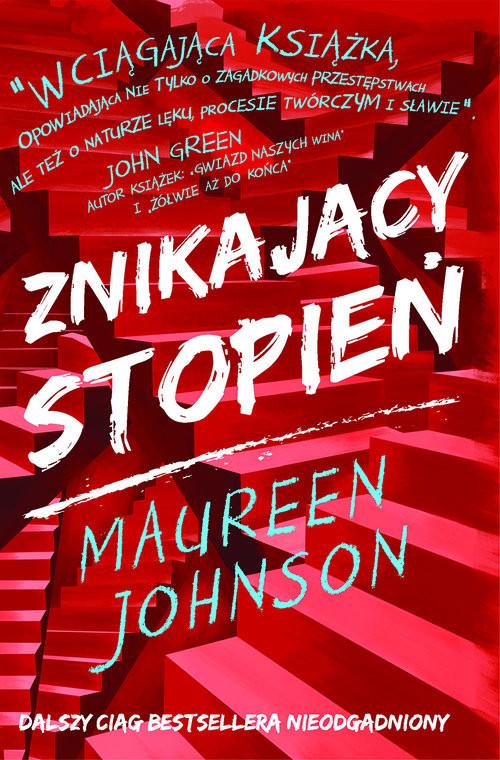 okładka Znikający stopień, Książka | Johnson Maureen