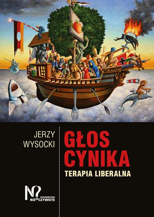 okładka Głos cynika Terapia liberalna, Książka   Wysocki Jerzy