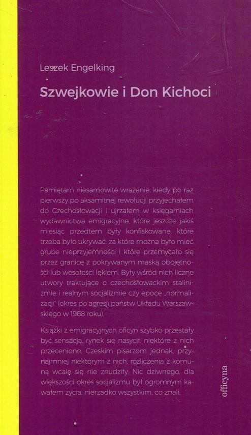 okładka Szwejkowie i Don Kichoci, Książka | Engelking Leszek