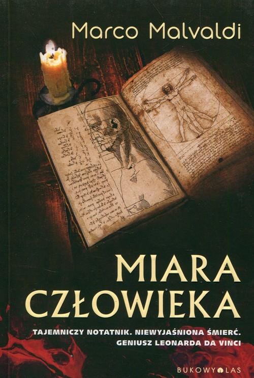 okładka Miara człowieka, Książka | Malvaldi Marco