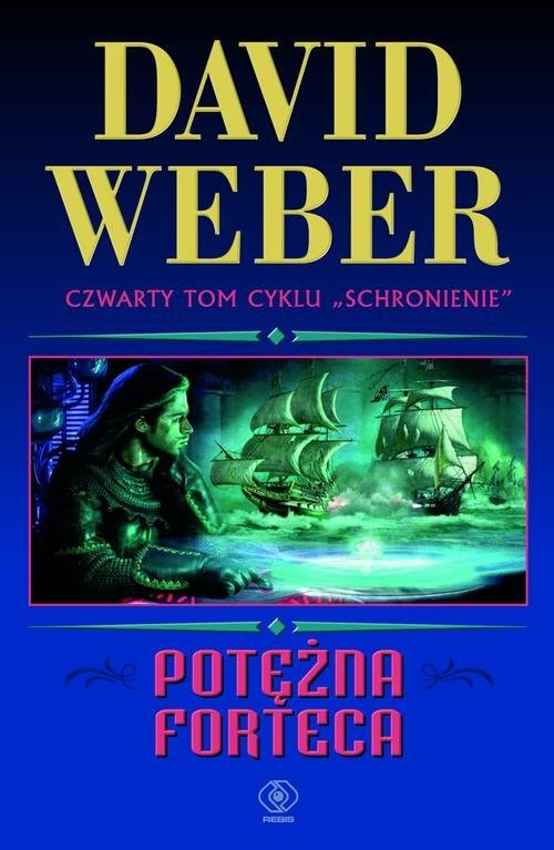 okładka Potężna forteca, Książka | David Weber