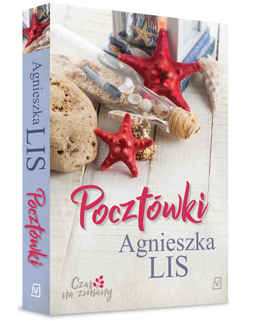okładka Pocztówki, Książka | Lis Agnieszka