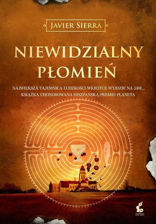 okładka Niewidzialny płomień, Książka | Sierra Javier