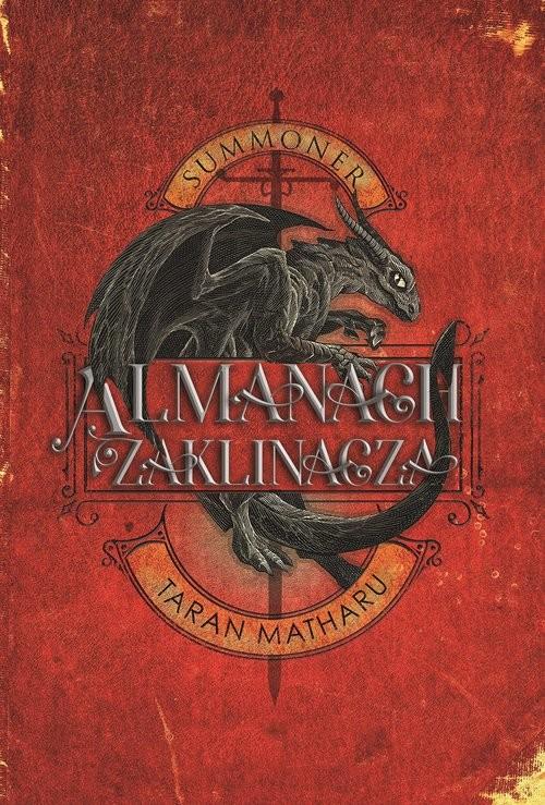 okładka Summoner Zaklinacz Almanach zaklinacza, Książka | Matharu Tharan