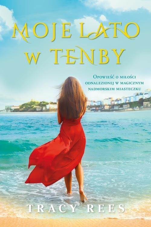 okładka Moje lato w Tenby, Książka | Rees Tracy
