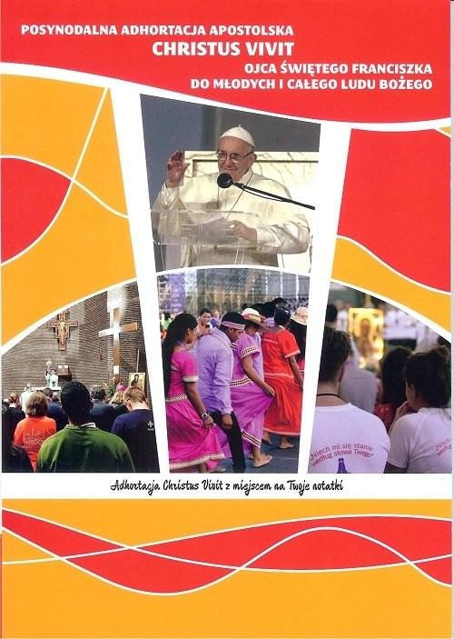 okładka Posynodalna Adhortacja apostolska CHRISTUS VIVIT, Książka | Święty Franciszek Ojciec