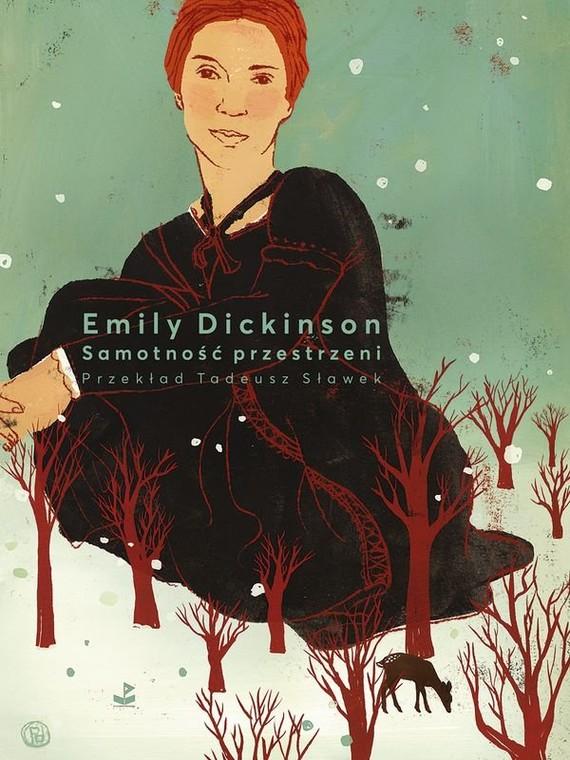 okładka Samotność przestrzeni, Książka | Dickinson Emily