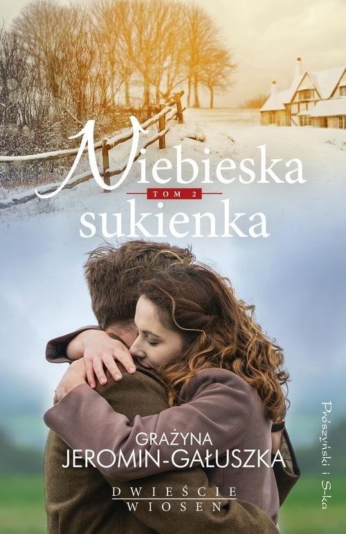 okładka Niebieska sukienka, Książka | Gałuszka Grażyna Jeromin